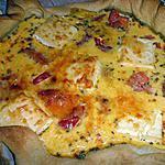 recette Quiche tomate kiri épice