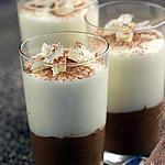 recette Mousses aux 2 chocolats
