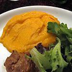 recette Purée de carotte au cumin