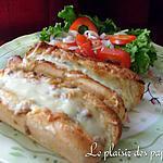 recette Petits pains à la viande gratinés
