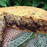 recette Gâteau aux blancs d'oeufs, pépites de chocolat et amaretto