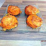 recette rapé de carottes au four