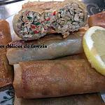recette Cigares au hachée de dinde (ou poulet)
