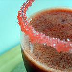 recette Jus de fraise a l'eau de rose