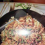 recette Nouilles sautées au porc (Asiatique)