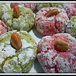 recette Mechkouk ou macarons aux amandes (gâteaux algériens)