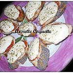 recette Bruschetta Margarita