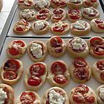 recette Minis pizzas