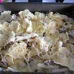 recette Raviolis sauce cepes et asperges blanches