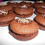 recette whoopi pie tout chocolat