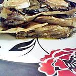 recette Lasagnes de courgettes au pesto et chévre