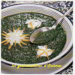 recette Potage à la florentine