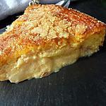 recette Gâteau pêches de vigne et fêves tonka