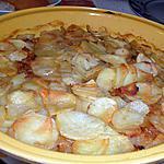 recette Gratin de pomme de terre à la Lyonnaise