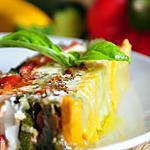 recette Mille feuilles de légumes du soleil au fromage de chèvre