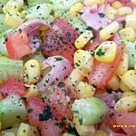 recette salade californienne (recette minceur)