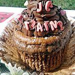 recette Cupcakes moelleux au nutella et son glaçage nutella mascarpone