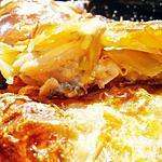 recette Feuilleté de saumon et poireaux