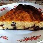 recette Tarte au fromage sans Pâte Eliane