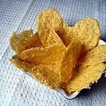 recette tuiles croustillantes au gouda et aux graines de sésame