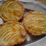 recette Mes minis tartes aux pommes normandes!