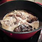recette Blanquette de lapin