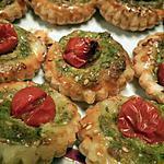 recette Tartelettes pesto et tomates cerises
