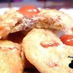 recette Cookies noix de coco et cerises confites