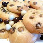recette Cookies cacahuètes enrobées de chocolat