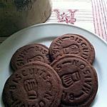 recette Petits sablés au chocolat