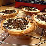 recette Tartelettes poires chocolat