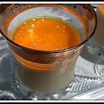 recette Verrines de mousse à la pêche et citron