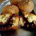 recette Muffins au coeur de nutella!