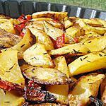 recette Potatoes rotis au poivron et herbes de provence