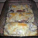 recette Côtes de porc gratinées au fromage à raclette