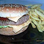 recette cheesburger maison