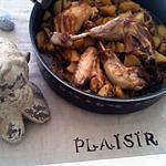recette Cocotte de poulet et pommes de terre paysanne