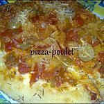 recette Mini pizza au poulet épicée façon Fajitas: