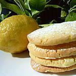 recette Biscuits citron-vanille
