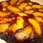 recette Gâteau renversé pêches-amaretto