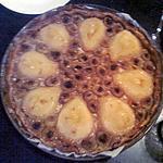 recette Tarte d'automne poires raisins