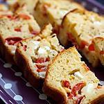 recette Cake feta tomate