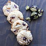 recette Cookies aux Michokos & aux cranberries