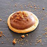 recette Pannacotta au chocolat sur sablé