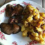 recette Polenta & Pommes de terre à ma façon (avec photos perso)