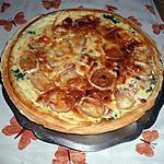 recette Tarte épinard, chèvre, lardons