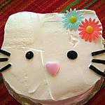 recette Gâteau d'anniversaire - Hello Kitty