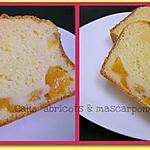 recette Cake abricots & mascarpone
