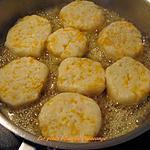 recette Croquettes de pommes de terre au cheddar jaune