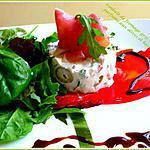 recette Timbale de fromage grec, parfumé aux olives et basilic